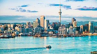 Horizonte en Auckland