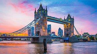 Vista del Puente en Londres