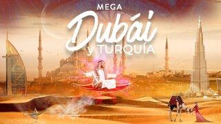 Mega Dubai y Turquia con Emirates