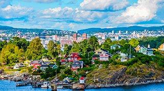 Ciudad de Oslo en Noruega