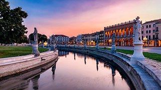 Plaza Prato en Padua