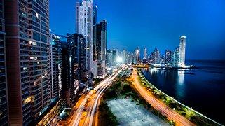 Vista de la Ciudad en Panama