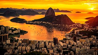 Amanecer en Rio