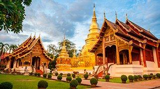 Templo budista en chiang mai
