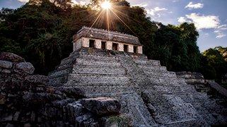 Templo de inscripciones en palenque