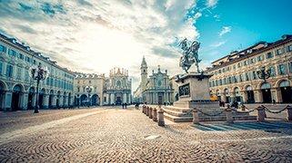 Plaza San Carlo en Viena